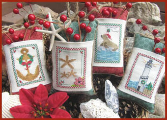 Seaside Christmas - Cross Stitch Pattern