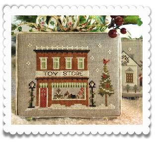 Toy Store - Cross Stitch Pattern