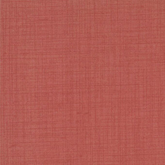 French General Favorites Faded Red Fabric - Half Yard