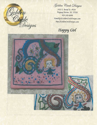 Happy Girl - Cross Stitch Pattern