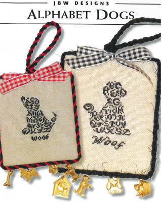 Alphabet Dogs - Cross Stitch Pattern