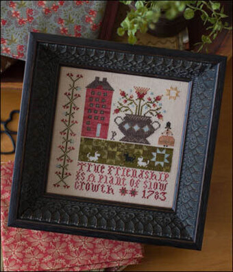True Friendship - Cross Stitch Pattern