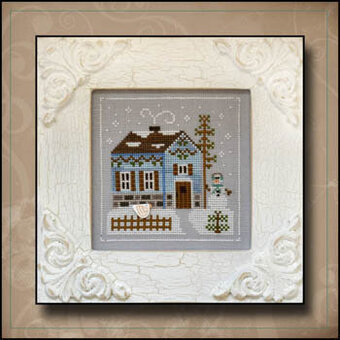 Snowgirl's Cottage - Cross Stitch Pattern