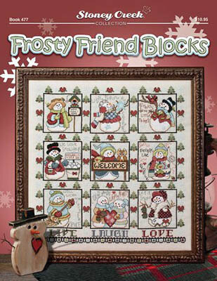 Frosty Friend Blocks - Cross Stitch Pattern