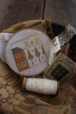 Fragments in Time #1 - Cross Stitch Pattern