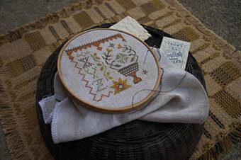 Fragments in Time #2 - Cross Stitch Pattern