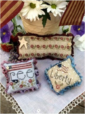 Americana Trifles - Cross Stitch Pattern
