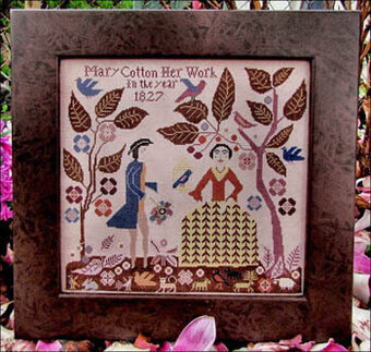 Mary Cotton - Cross Stitch Pattern