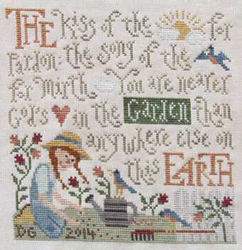 Garden Bliss - Cross Stitch Pattern