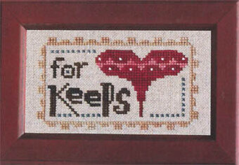 Daily Reminder - For Keeps - Cross Stitch Pattern