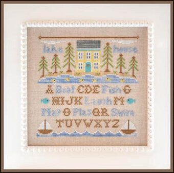 Lake House - Cross Stitch Pattern