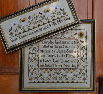 Everyday Sampler - Cross Stitch Pattern