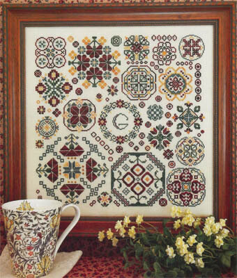 Round & Round - Cross Stitch Pattern