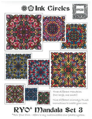 RYO Mandala Set 3 - Cross Stitch Pattern