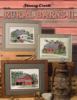 Rural Barns II - Cross Stitch Pattern