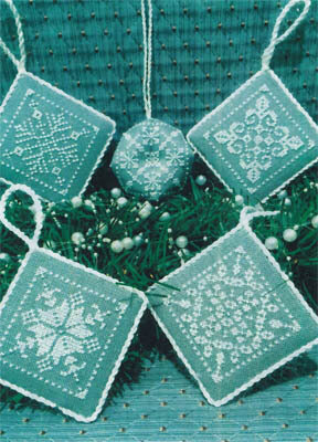 Snowflake Ornaments - Cross Stitch Pattern
