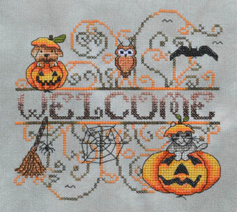 Pumpkin Patch Critters - Cross Stitch Pattern