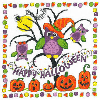 Halloween Tricks - Cross Stitch Pattern