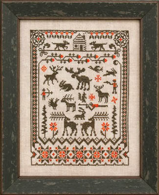 Northwoods - Cross Stitch Pattern