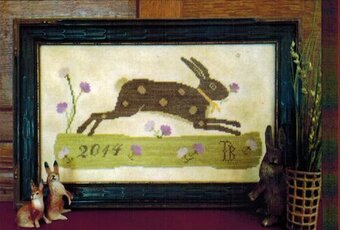 Spring Meadow Sampler - Cross Stitch Pattern