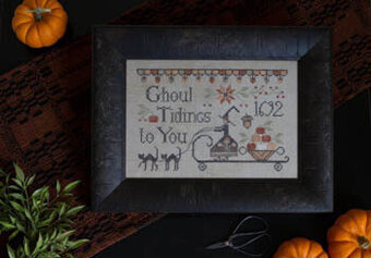 Ghoul Tidings - Cross Stitch pattern