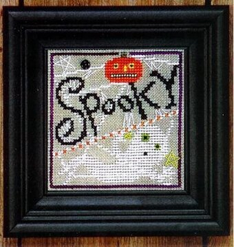 Snapper Ghost Spooky Spinner -  Stitch Pattern