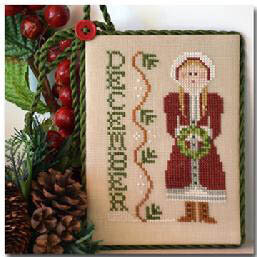 Calendar Girl - December - Cross Stitch Pattern