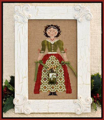 My Lady at Christmas - Cross Stitch Pattern
