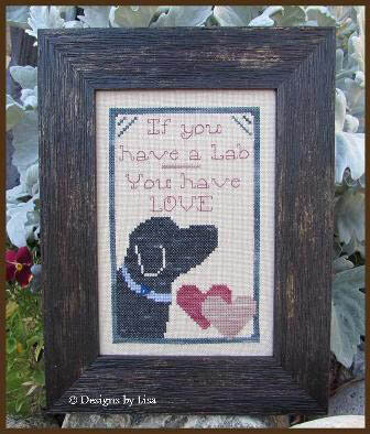 If You Have a Lab - Cross Stitch Pattern
