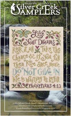 Live Your Dreams - Cross Stitch Pattern