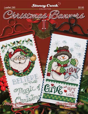 Christmas Banners I - Cross Stitch Pattern