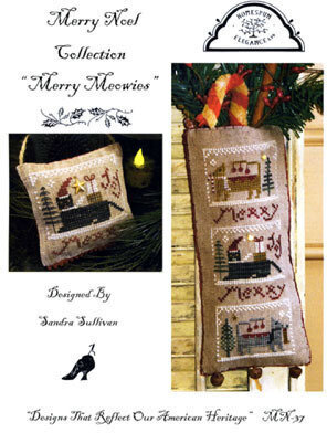 Merry Meowies - Cross Stitch Pattern