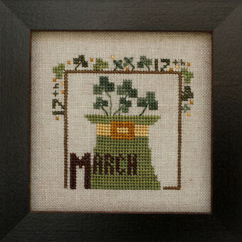 Joyful Journal - March - Cross Stitch Pattern