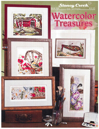 Watercolor Treasures - Cross Stitch Pattern