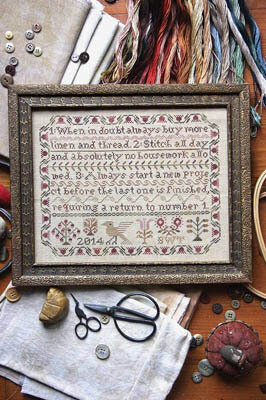 Stitcher's Resolution - Cross Stitch Pattern