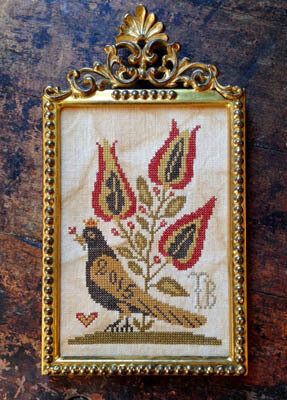 Queen Esther's Pure Heart - Cross Stitch Pattern