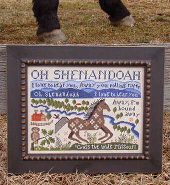 Shenandoah - Cross Stitch Pattern