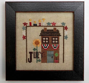 Joyful Journal - July - Cross Stitch Pattern