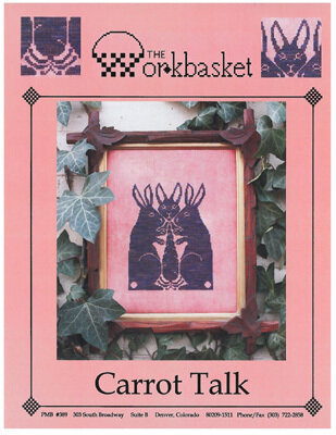 Carrot Talk - Cross Stitch Pattern
