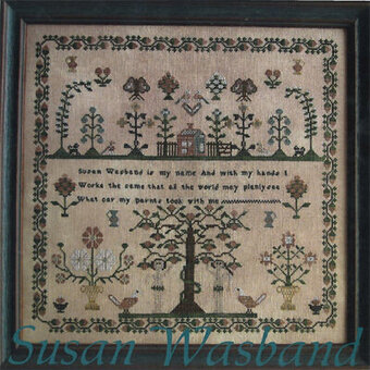 Susan Wasband - Cross Stitch Pattern