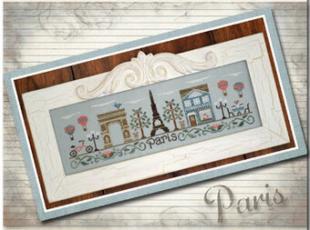 Afternoon in Paris - Cross Stitch Pattern