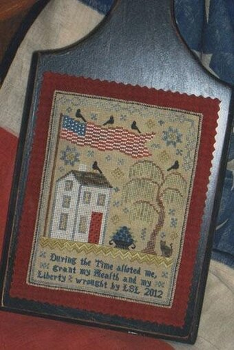 Grande Olde Flag Sampler - Cross Stitch Pattern
