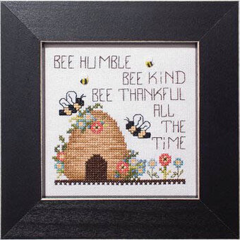 Bee Thankful (Simply Inspirational) - Cross Stitch Pattern