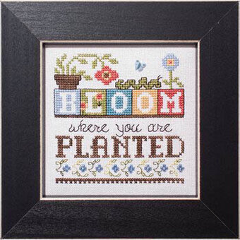 Bloom (Simply Inspirational) - Cross Stitch Pattern