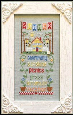 Summer - Seasonal Celebrations - Cross Stitch Pattern