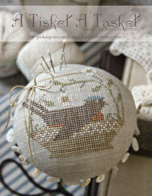 A Tisket A Tasket - Cross Stitch Pattern