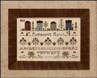 Patriot's Row - Cross Stitch Pattern