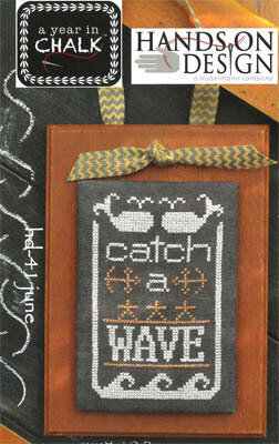 Year in Chalk June - Cross Stitch Pattern