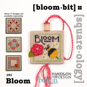Squareology Bloom - Bloom Bit - Cross Stitch Pattern