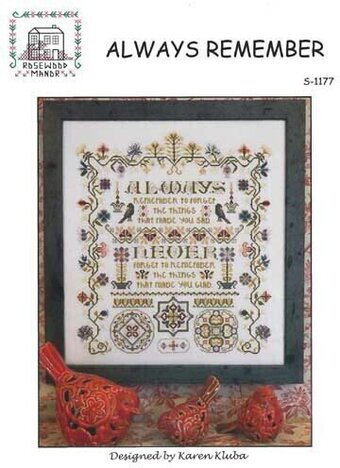 Always Remember - Cross Stitch Pattern
